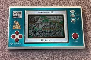 ゲームウォッチ ドンキーコングjr. DONKEY KONG JR. 中古 任天堂 GAME&WATCH