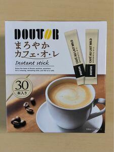 DOUTOR ドトール まろやか カフェオレ 30本入り  スティックコーヒー コーヒー