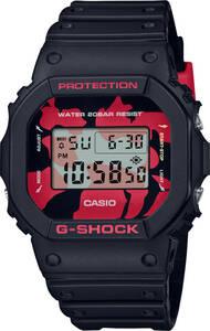 ★☆腕時計 カシオ Gショック DW-5600JK-1JR ストップウォッチ メンズ 錦鯉 新品未使用 正規品☆★