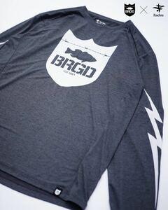 【新品・即決・送料込】Foxfire × BASS BRIGADE SCORON L/S TEE フォックスファイヤー バスブリゲード コラボ Tシャツ Mサイズ BRGD