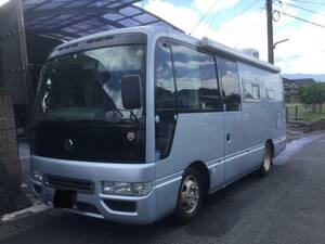 H19 Civilian camper bus navy blue Big Foot Land Home diesel turbo