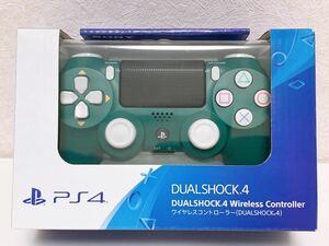 新品未開封 PS4【Amazon.co.jp限定】ワイヤレスコントローラー(DUALSHOCK 4) アルパイン・グリーン デュアルショック4 コントローラー SONY