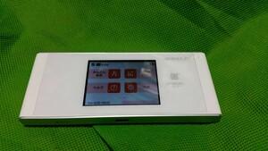 UQ WiMAX SPEED Wi-Fi NEXT W05 HWD36 WiMAX2 中古動作品