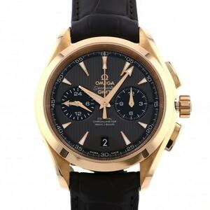 オメガ OMEGA シーマスター アクアテラ 150M コーアクシャル クロノグラフ GMT 231.53.43.52.06.001 グレー文字盤 新品 腕時計 メンズ