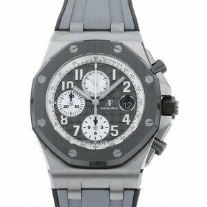 オーデマ・ピゲ AUDEMARS PIGUET ロイヤルオークオフショア クロノグラフ 26470IO.OO.A006CA.01 グレー/シルバー文字盤 新品 腕時計 メンズ
