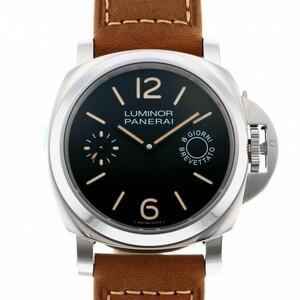パネライ PANERAI ルミノール マリーナ 8デイズ アッチャイオ PAM00590 ブラック文字盤 新品 腕時計 メンズ