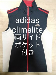 adidas アディダス ノースリーブ ベストTシャツ トレーニングウェア ウィンドブレーカー タンクトップ