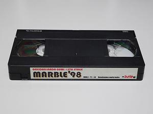 劇団イナダ組 マーブル'98 MARBLE'98 VHS ビデオ 大泉洋 戸次重幸 佐藤重幸 音尾琢真 team nacs チームナックス Office CUE オフィスキュー