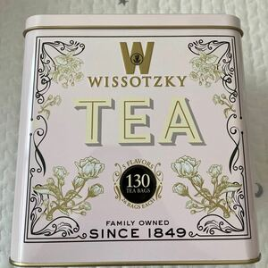WISSOTZKY TEA ギフトセット 1缶 ヴィソツキーティー 130袋入り コストコ 5種類フレーバー 大容量 紅茶