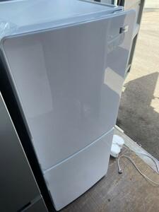ハイアール 2ドア冷蔵庫 148L 2017年製 JR-NF148A ホワイト