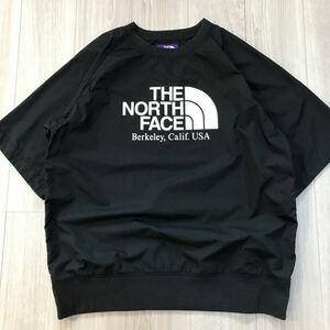 XL大きいサイズTHE NORTH FACE PURPLE LABELノースフェイスBEAUTY&YOUTHパープルレーベル 別注 ナイロンTシャツunited arrowsブラック 黒