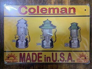 コールマン Coleman 看板 ランタン 200A コールマンランタン キャンプ アウトドア インテリア ケロシン ガスランタン