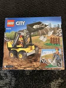 【未開封】レゴ(LEGO) シティ 工事現場のシャベルカー 60219 ブロック おもちゃ 男の子 車