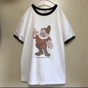 *完売* Ray BEAMS 7人の小人 Tシャツ Disney ドック アリス リンガーボディ ビームス
