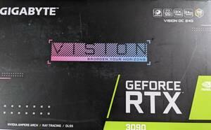 GIGABYTE NVIDIA GeForce RTX3090 GV-N3090VISION OC-24GD