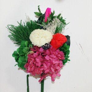 S5-1 展示品 格安 お手入れ不要 プリザーブドフラワー 仏花 枯れないお花