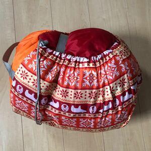 コールマン 寝袋 キッズマミー アジャスタブル/C4 (オレンジ) 品番2000027271
