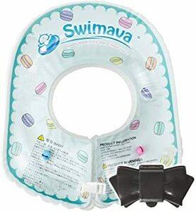 [Swimava] スイマーバ【日本正規品】ボディリング(ベビーサイズ/マカロン)(生後6カ月~2歳頃)&おしりふきのふた