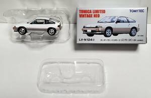超希少品 トミーテック トミカリミテッド ヴィンテージ ネオ ホンダ バラードスポーツ CR-X 1.5i 1983年式 LV-N124d ミニカー