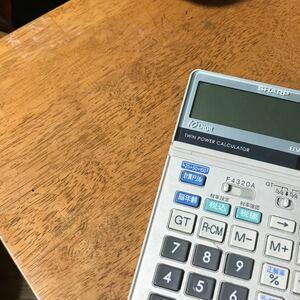 カシオ CASIO 計算機 関数電卓 ゲーム電卓 電卓 昭和レトロ 薄型 SHARP
