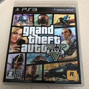 PS3 GTA5 グランド・セフト・オートV グランドセフトオート5