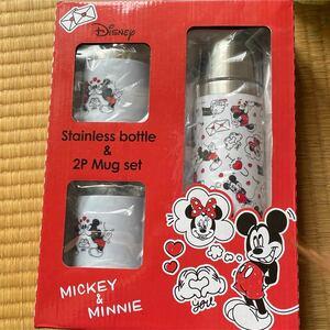 ステンレスボトル マグカップ 水筒 ミッキー ミニー