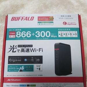 WHR-1166DHP4 BUFFALO WiFi 無線LANルーター 無線LAN親機 AirStation バッファロー