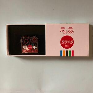 コカコーラ 東京2020記念ピンバッチ 花火