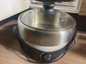 レコルト ポットデュオ マルチクッカー グリル鍋 リンナイ MODEL DUO 電気鍋 電気グリル なべ