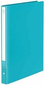 ターコイズブルー ミドル コクヨ ファイル クリアファイル NEOS 替紙式 A4 縦 ミドル 30穴 ターコイズブルー ラ-N