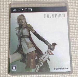 ファイナルファンタジーXIII PS3