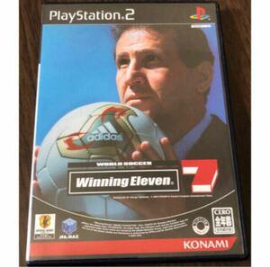 PS2ソフト ワールドサッカー ウイニングイレブン7