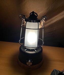 【選べる2種類の充電式】 LED ランタン 電池付き USB充電式 電池式 モバイルバッテリー機能 調色 調光機能 キャンプ 防災用ライト