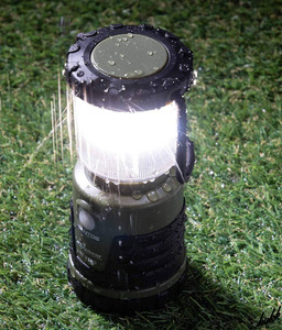 【キャンドルモード搭載】 LED ランタン 超軽量 3段調光機能 電池付属 防水 防塵 ビルトインフック 緊急 非常用 キャンプ アウトドア
