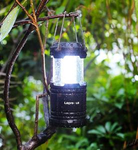 【高輝度LEDランタン2個セット】 LED ランタン 電池式 折りたたみ式 調光機能 防水 キャンプ アウトドア 防災用ライト ブラック