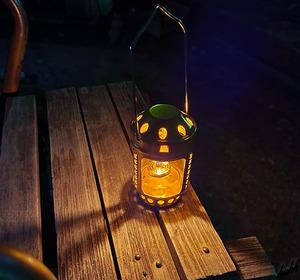 【アロマポットにも出来る】 キャンドル ランタン キャンドル付き 超軽量 コンパクト ロマンチック キャンプ アウトドア LOGOS