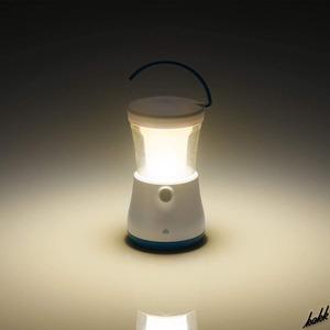 【明るいのに眩しくない】 LED ランタン 無段階調光 電池残量お知らせ機能 防水 防塵 キャンプ アウトドア 防災用ライト LOGOS
