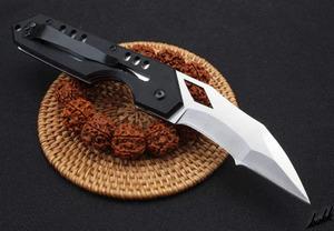 【錆びにくくお手入れ簡単】 フォールディングナイフ 折りたたみ式 ステンレス鋼 ラインロック G10ハンドル アウトドア キャンプ