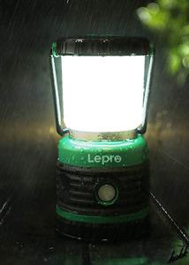 【緊急時の赤色点滅機能】 LED ランタン ビーム角360° 4点灯モード 無段階調光 防水性能IPX4 フック付き キャンプ アウトドア