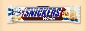 ローソン スニッカーズ ホワイト/スニッカーズ ピーナッツシングル 無料引換券 クーポン 1個