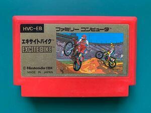 ファミコンソフト エキサイトバイク ジャンク品