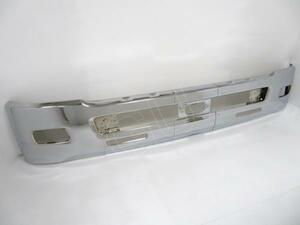 ★ いすゞ 07 フォワード H19.7~ ワイド 用 フロント バンパー クローム メッキ FSR34 FRR90 FSS90 FRS90 FTR34 FTR90 FRR34 FRR90
