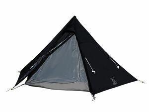 DOD(ディーオーディー) ワンポールテントM 5人用 テント キャンプ T5-47-BK