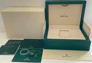 《美品》ROLEX ロレックス純正 デイトナ Lサイズ 現行 未使用に近い ベゼルカバー付 BOX 付属品8点