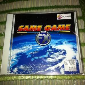 PC-FX CDソフト SAME GAME FX GA PC-FXGA専用 未開封