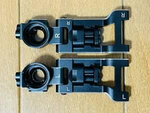 ヨコモ アルミ製 可変式 リヤ ショート Hアームキット+ヨコモ アルミ リヤ ハブキャリア YD-2