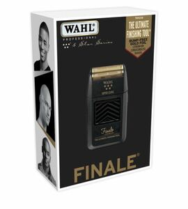WAHL FINALE・ウォール フィナーレ コードレス シェーバー ひげ剃り 電気シェーバー 電気髭剃り 新品並行 仕上げ