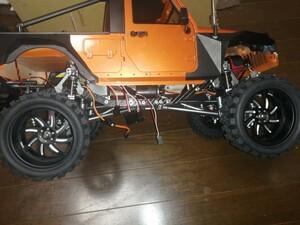 クローラー3.2インチホイールとタイヤセット