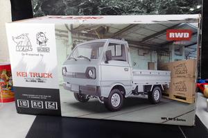 5台~送料無料 新品 1/10スケール WPL RWD D12 RC 軽トラック シルバー ラジコン RCおもちゃ 四駆 軽トラ
