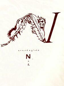 Nの足 半袖Tシャツ Mサイズ aroundaglobe ユウレイヒレアシナナフシ オオコノハムシ 昆虫 インセクト insect t-shirt